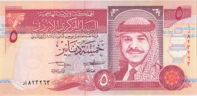 Jordanien / Jordan P.30a 5 Dinars 1995 (1)