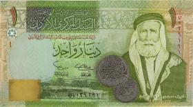 Jordanien / Jordan P.34a 1 Dinar 2002 (1)