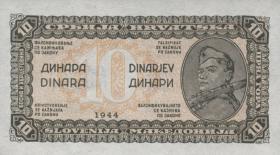 Jugoslawien / Yugoslavia P.050a 10 Dinara 1944 (1)