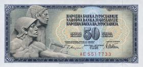 Jugoslawien / Yugoslavia P.089a 50 Dinara 1978 (1)