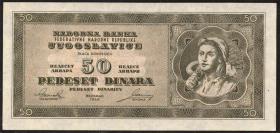 Jugoslawien / Yugoslavia P.067U 50 Dinara 1950 (1/1-)