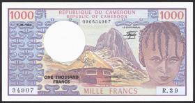 Kamerun / Cameroun P.21 1000 Francs 1984 (1)