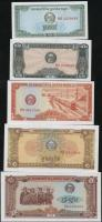 Kambodscha / Cambodia P.25-29 0,10 - 5 Riels 1979 (1) Set 5 Werte