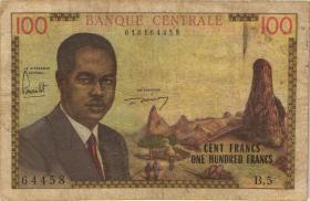 Kamerun / Cameroun P.10 100 Francs (1962) (4)