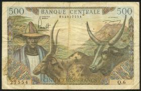 Kamerun / Cameroun P.11 500 Francs (1962) (4)