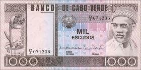 Kap Verde / Cape Verde P.56a 1000 Escudos 1977 (1)