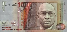 Kap Verde / Cape Verde P.60a 1000 Escudos 1989 (1)