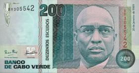 Kap Verde / Cape Verde P.58a 200 Escudos 1989 (1)