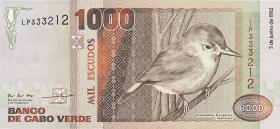 Kap Verde / Cape Verde P.65a 1000 Escudos 1992 (1)