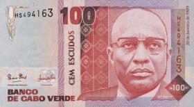 Kap Verde / Cape Verde P.57 100 Escudos 1989 (1)
