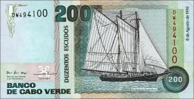 Kap Verde / Cape Verde P.63 200 Escudos 1992 (1)