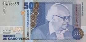 Kap Verde / Cape Verde P.64 500 Escudos 1992 (1)