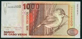Kap Verde / Cape Verde P.65b 1000 Escudos 2002 (1)