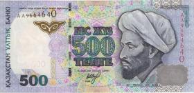 Kasachstan / Kazakhstan P.21b 500 Tenge 1999 (1)