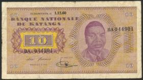 Katanga P.05a 10 Francs 1960 (4)