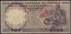 Katanga P.13a 500 Francs 1962 (3)