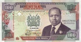 Kenia / Kenya P.27d 100 Shillings 1992 (2/1)