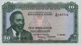 Kenia / Kenya P.07d 10 Shillings 1973 (1)