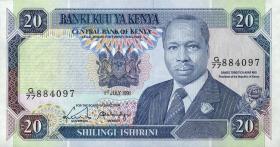 Kenia / Kenya P.25d 20 Shillings 1991 (1)
