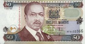 Kenia / Kenya P.36b 50 Shillings 1997 (1)