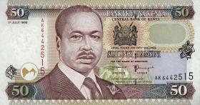 Kenia / Kenya P.36c 50 Shillings 1998 (1)