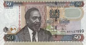 Kenia / Kenya P.47a 50 Shillings 2005 (1)