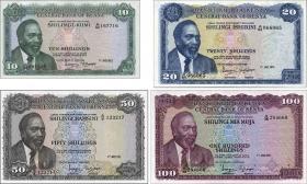 Kenia / Kenya P.07d - P.10c Satz 4 Werte (1)