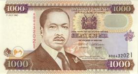 Kenia / Kenya P.34b 1000 Shillings 1995 (1)