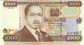 Kenia / Kenya P.40a 1000 Shillings 1997 (1)