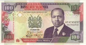 Kenia / Kenya P.27d 100 Shillings 1992 (1)