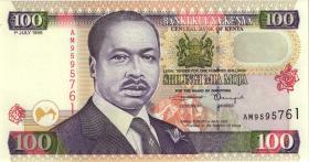 Kenia / Kenya P.37d 100 Shillings 1999 (1)