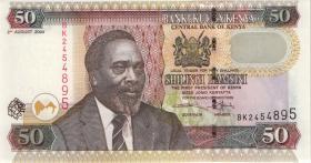 Kenia / Kenya P.41c 50 Shillings 2004 (1)