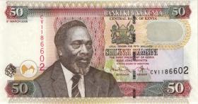 Kenia / Kenya P.47c 50 Shillings 2008 (1)