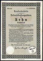 Ehestandsdarlehen 10 Reichsmark 1937 (2)