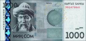 Kirgistan / Kyrgyzstan P.29a 1000 Som 2010 (1)