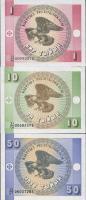 Kirgistan / Kyrgyzstan P.01-03 1-50 Tyin (1993) (1)