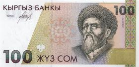 Kirgistan / Kyrgyzstan P.12 100 Som (1994) (1)