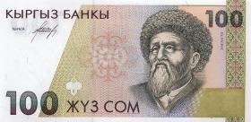 Kirgistan / Kyrgyzstan P.12 100 Som (1994) (1)