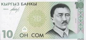 Kirgistan / Kyrgyzstan P.09 10 Som (1994) (1)