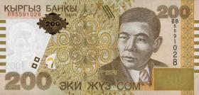 Kirgistan / Kyrgyzstan P.22 200 Som 2004 (1)