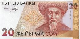 Kirgistan / Kyrgyzstan P.10 20 Som (1994) (1)