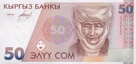 Kirgistan / Kyrgyzstan P.11 50 Som (1994) (1)