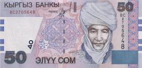 Kirgistan / Kyrgyzstan P.20 50 Som (2002) (1)