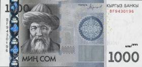 Kirgistan / Kyrgyzstan P.29b 1000 Som 2016 (1)