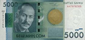 Kirgistan / Kyrgyzstan P.30 5000 Som 2010 (1)