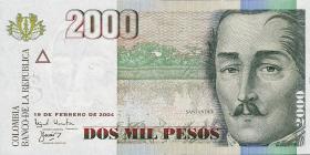 Kolumbien / Colombia P.451 2000 Pesos 2000-05 (1)