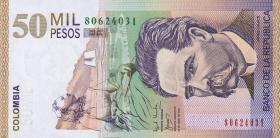 Kolumbien / Colombia P.455 50000 Pesos 2001-2002 (1)