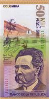 Kolumbien / Colombia P.455c 50000 Pesos 2002 (1)