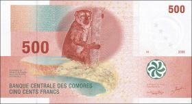 Komoren / Comoros P.15 500 Francs 2006 (1)