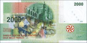 Komoren / Comoros P.17 2000 Francs 2005 (1)